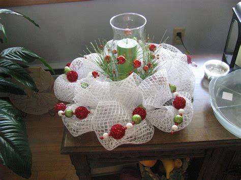 christmas table wreath centerpieces deco mesh centerpiece wreaths centerpieces wreaths and craft