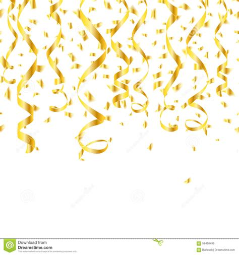 Balon Metalik I You Cinta fiamme dorate dei coriandoli partito illustrazione