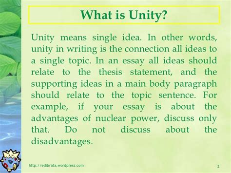 What Is Literature Essay by Essay Writing Unity And Coherence
