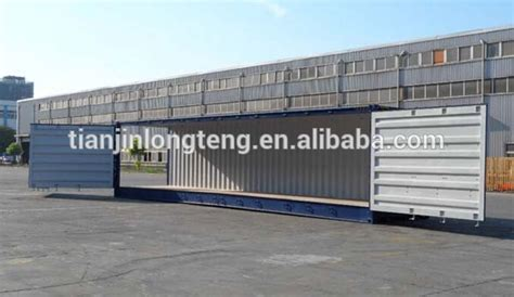 40 Open Side Shipping Container Price by Side Open 40 Foot Container Price 40 Hq Container Side