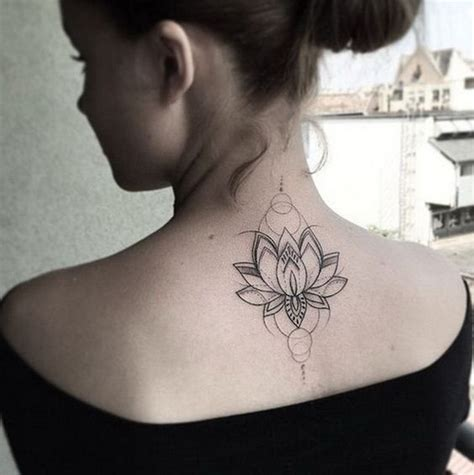 tattoo back of neck ideas 83 attractive back tattoo designs for women