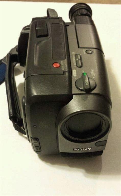 cassette videocamera sony ccd trv30 handycam video8 8mm camcorder