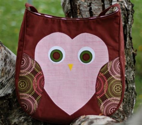 owl tote bag pattern free patternpile com sewing and quilting patterns