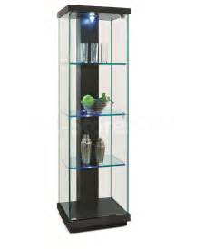 new spec black oak curio display cabinet curios