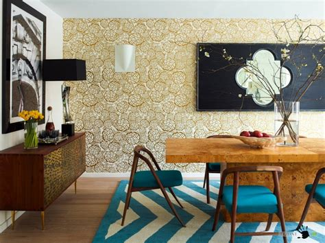 wallpaper home decor modern 9 wallpaper ideas to jazz up a room modern home decor
