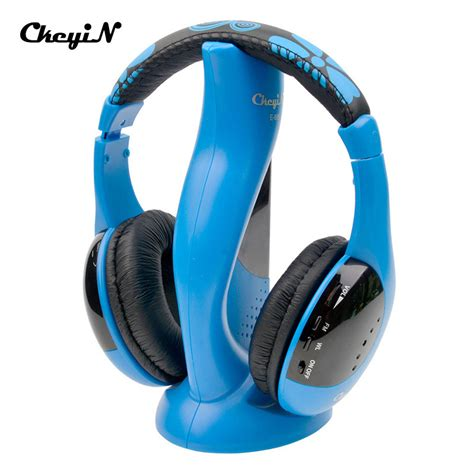 Unique Headphone Headset Stereo For Smartphone Mic Tv 12 Bass earphone review 2016 best 6 in 1 wireless stereo headphones microphone monitor fm radio