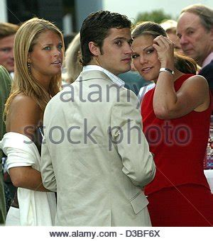 crown princess victoria with brother prince carl philip