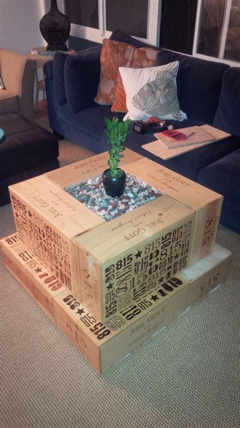 Marvelous Small Coffee Table Ideas #2: Wood-Crate-Coffee-Table-DIY.jpg