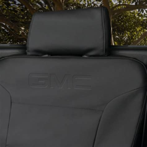 2016 gmc yukon seat covers 2017 acadia denali protective seat cover jet black
