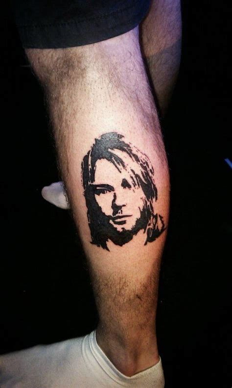 nirvana tattoos kurt cobain search ink and needles