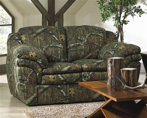 realtree sofa huntley loveseat in mossy oak or realtree camouflage