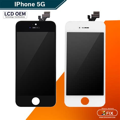 Iphone 5g Small หน าจอ iphone 5g white 3fixshop