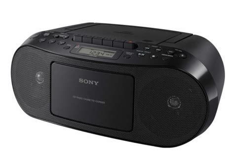 cassette player boombox sony cfds50 portable cd cassette player and am fm radio
