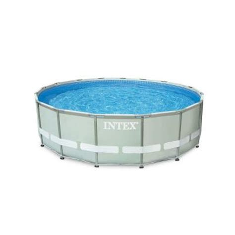 intex 16 ft x 48 in ultra frame pool set with 1200 gal