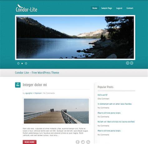 layout for wordpress homepage free minimalist wordpress blog theme condor lite xdesigns