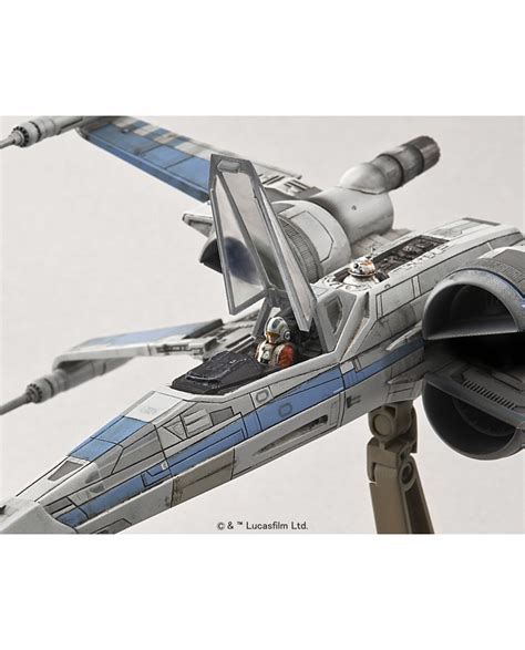 1 72 X Wing Resistance Blue Squadron wars the awakens resistance x wing fighter 1 72 scale model kit ban202289