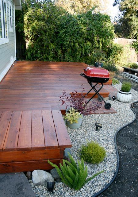small deck ideas for small backyards 25 best ideas about small backyard decks on pinterest