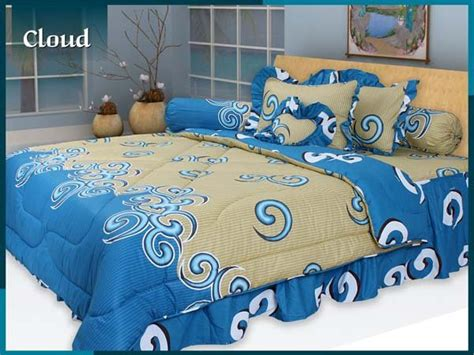 New Sprei Kintakun Dluxe Rbb Rumbai Bantal Busa 180 Pricile sprei bed cover murah stock ready sprei my 9 agustus 2010