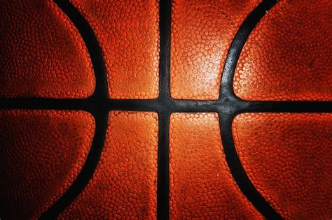 basketball pattern texture dark and edgy old basketball texture background image