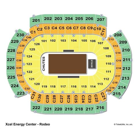 xcel center seating xcel energy center st paul mn seating chart view