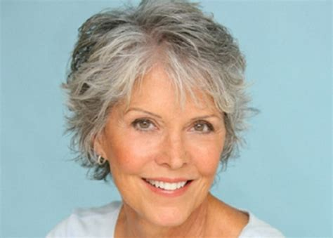 hairstyles for fine grey hair over 60 short haircuts for women with gray hair like thin sleek