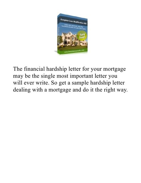 Hardship Letter En Espanol Hardship Letter For Mortgage Reduction