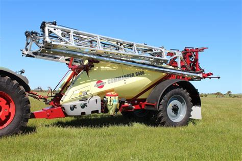 inductor tank australia new hardi commander ii 6500l sprayers for sale