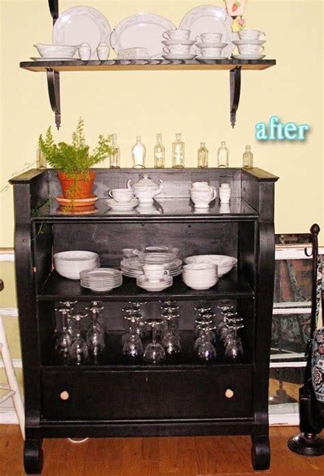 How To Repurpose A Dresser by Repurposed Dresser In Doors