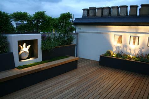Bodenbelag Dachterrasse by Top Ideen F 252 R Coole Dachterrasse Designs Sch 246 Ne
