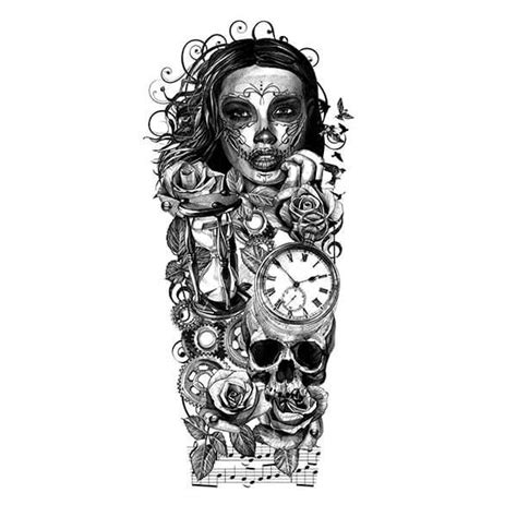 custom tattoo designs for men image result for sleeve stencils