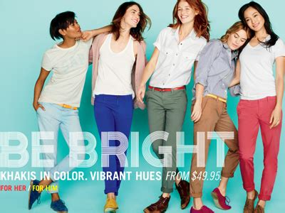 Fashion Advice The Gap by Citi Upgrades Gap Because Colorful Are Back In Style