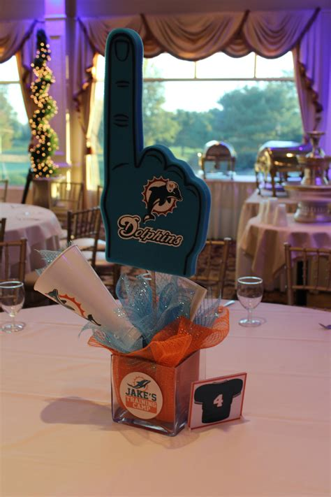 sport theme centerpieces sports themed birthday