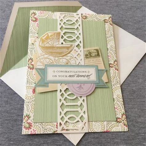 Welcome Handmade Cards - welcome new baby card conscious crafties