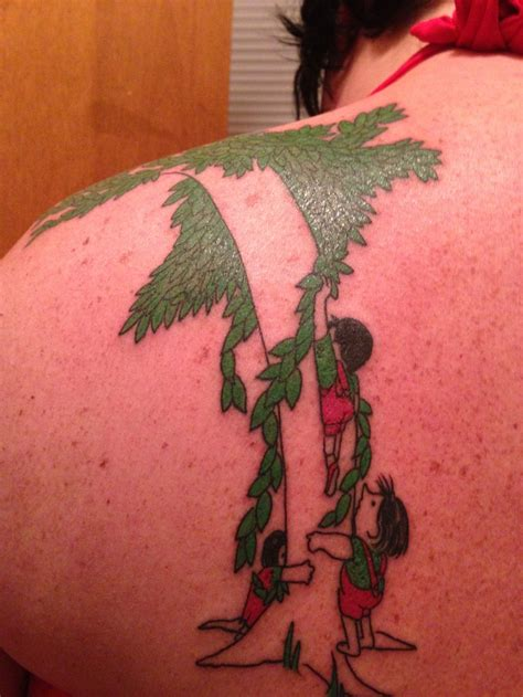 giving tree tattoo the giving tree this