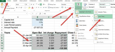 format excel negative numbers red excel negative numbers in red or another colour