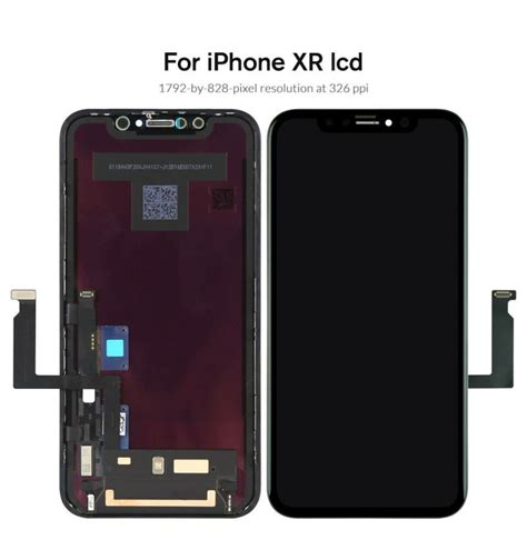 for replacement iphone xr 6 1 quot lcd screen display front glass lens touch digitizer assembly