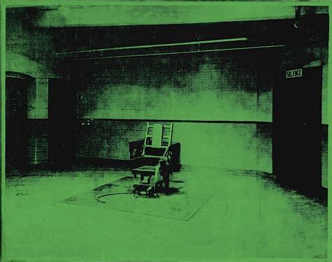 sedia elettrica andy warhol pop