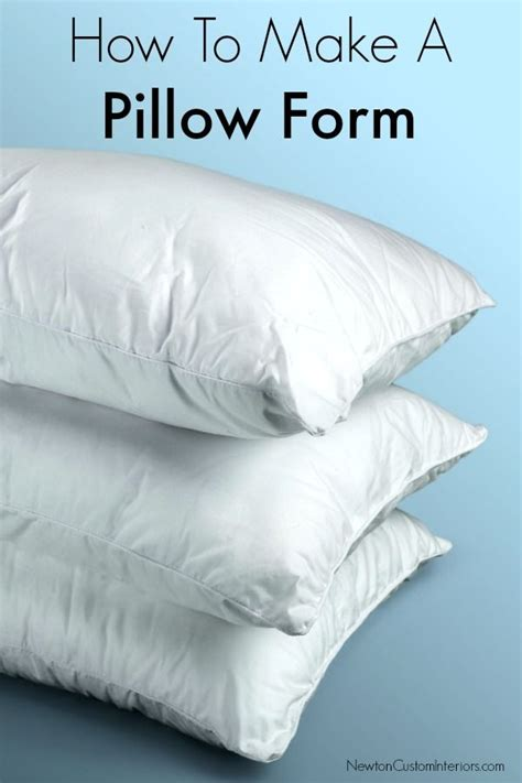 How To Sew Envelope Pillow by Best 25 Pillow Forms Ideas On How To Make