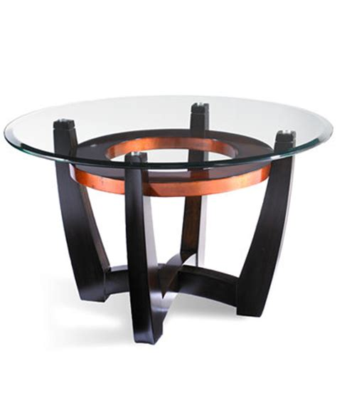 Elation Round Coffee Table Furniture Macy S Macy S Coffee Table