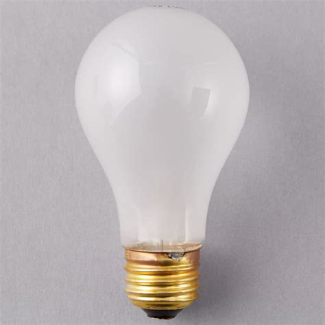 rough service light bulbs satco s3951 40 watt frosted finish incandescent rough