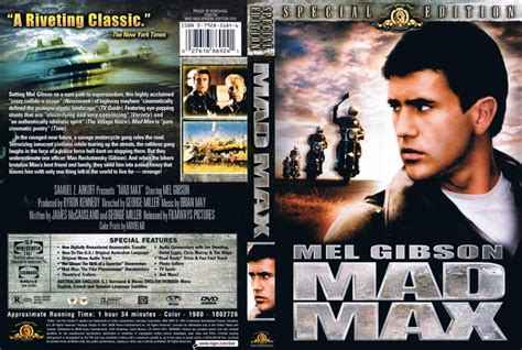 maxcovers dvd gratis mad max special edition movie dvd scanned covers