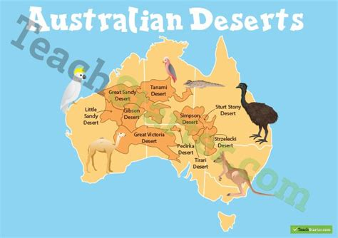 australian desert map australian deserts map teaching resource teach starter
