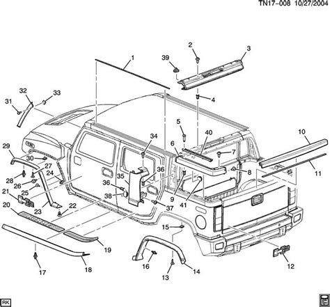 service manual 2006 hummer h2 centre trim panel removal
