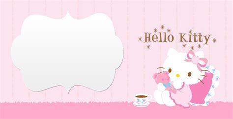 hello kitty template invitations vohub co