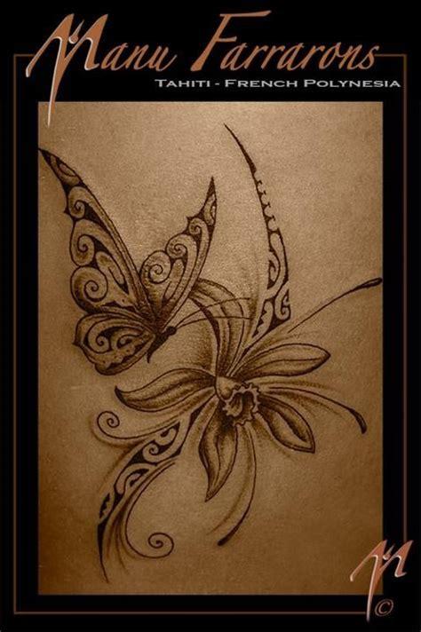 papillon tattoo tatouage papillon fleur tattoos tatoo