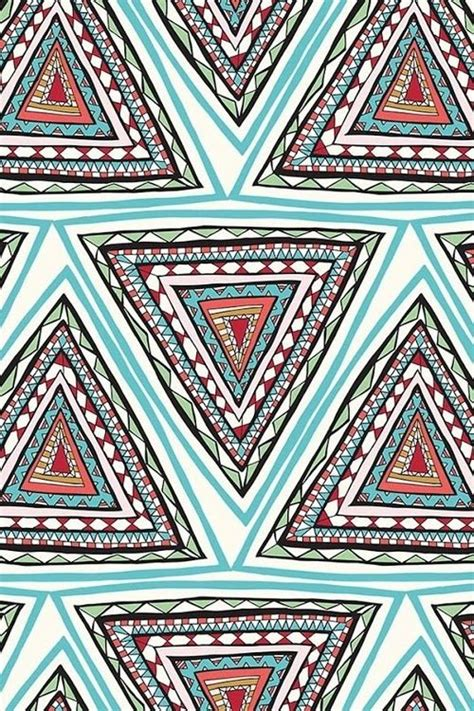 pattern print triangulos backgrounds pinterest triangles