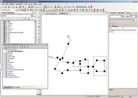 layout manager wiki active topology management haestad hydraulics and