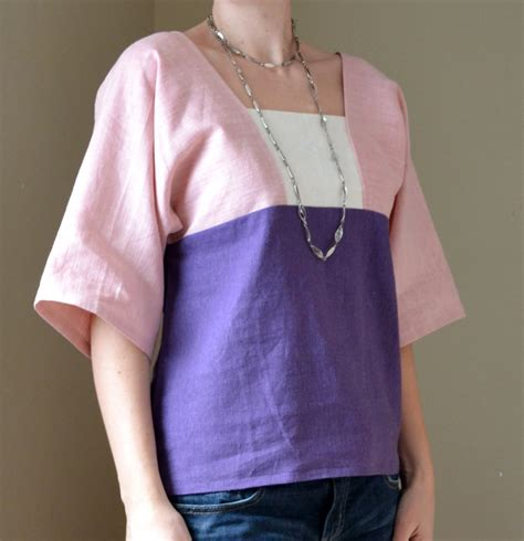 kimono t shirt pattern free pattern colour block kimono shirt innes and swan