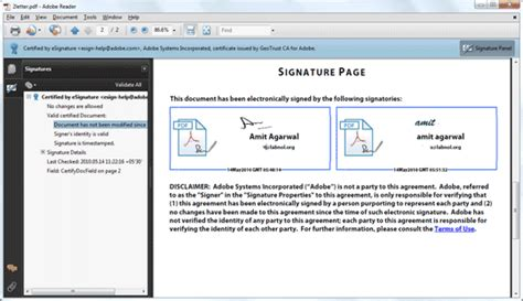free electronic signature pdf get free digital signatures for pdf documents with adobe