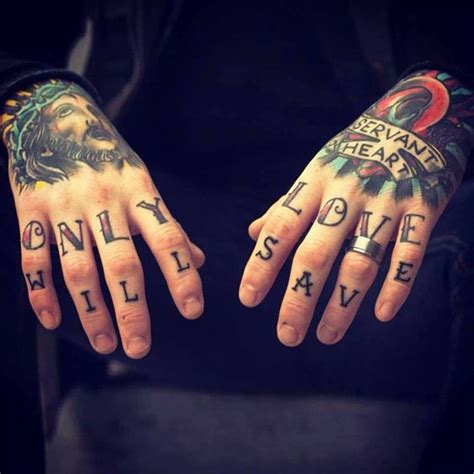 hand tattoos for men words traditional religious designs best tattoos 2017